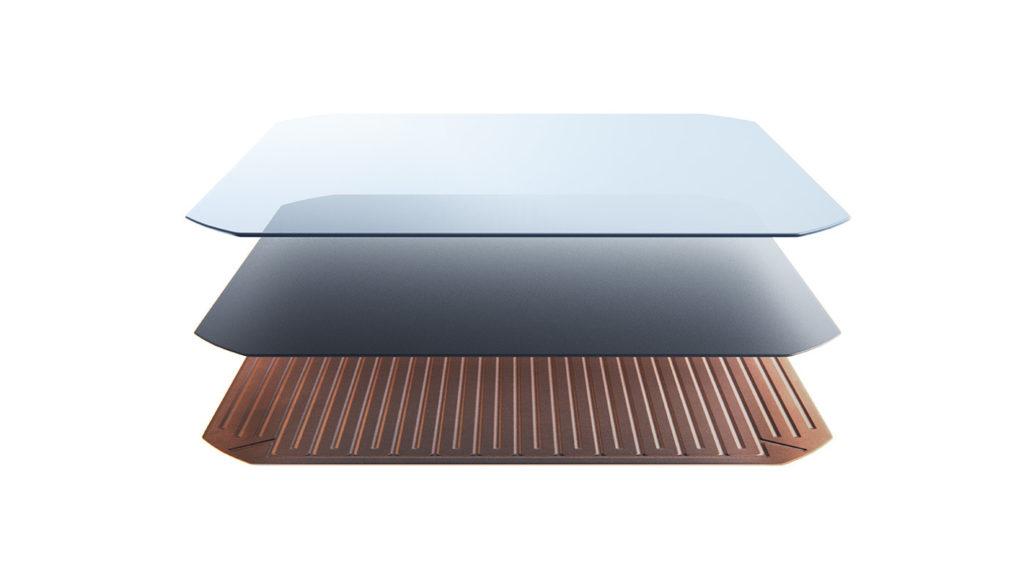 cella fotovoltaica del pannello fotovoltaico ad alto rendimento