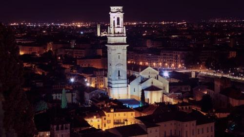 Panorama della città. Quanto produce il fotovltaico a Verona?