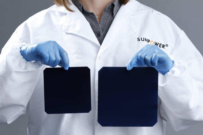 Celle Maxeon di terza generazione SunPower confrontate con tecnologie precedenti