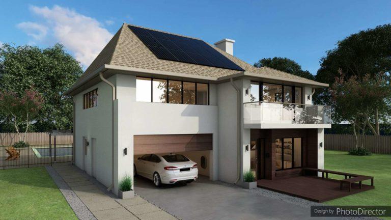 con i pannelli solari posso caricare la mia auto e risparmiare carburante