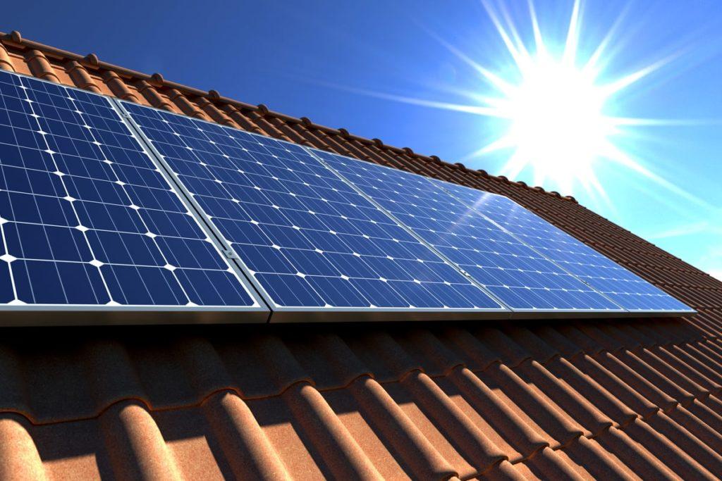 Impianto fotovoltaico da 4 kW installato sul tetto