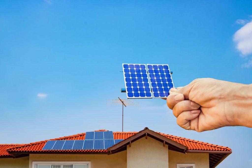 Spazio occupato da un impianto fotovoltaico